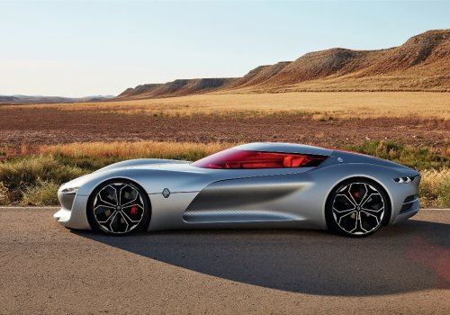 Trezor - концепт и новое развитие дизайна Renault