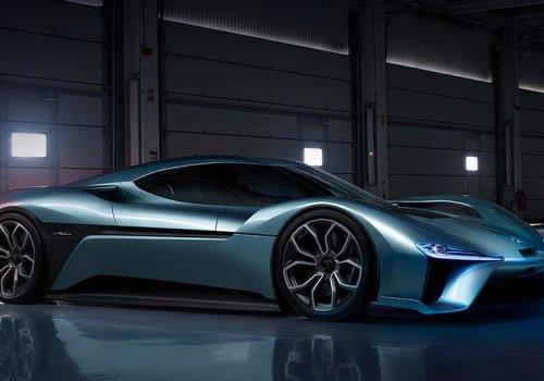 Nio EP9 — самый быстрый электромобиль в мире